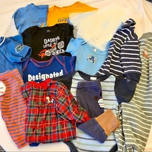 Other - Multi-Brand Boy's Clothing Lot Sizes 6-9 Months